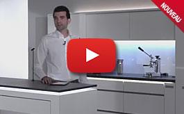 Cuisine intelligente connectée avec Loox, vidéo